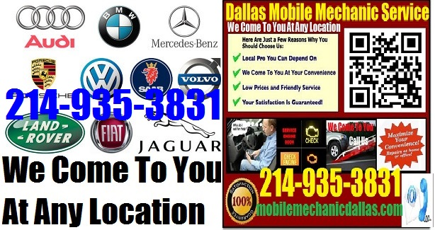 European & German Onsite Dallas Foreign Import Technician Service