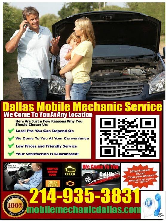 dallas mobile mechanic auto car repair service pre purchase vehicle inspection. Black Bedroom Furniture Sets. Home Design Ideas