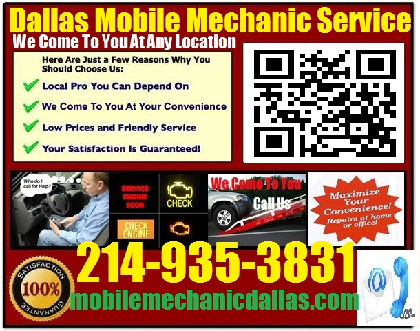 Auto Service Near Me >> Mobile Mechanic Richardson Texas Automotive Repair Service Near Me