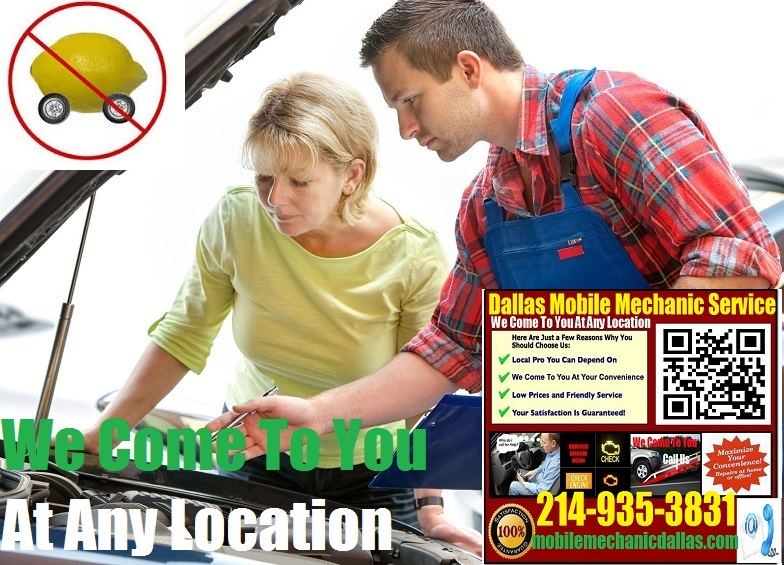 Pre Purchase Car Inspection Dallas Mobile Auto Mechanic Service