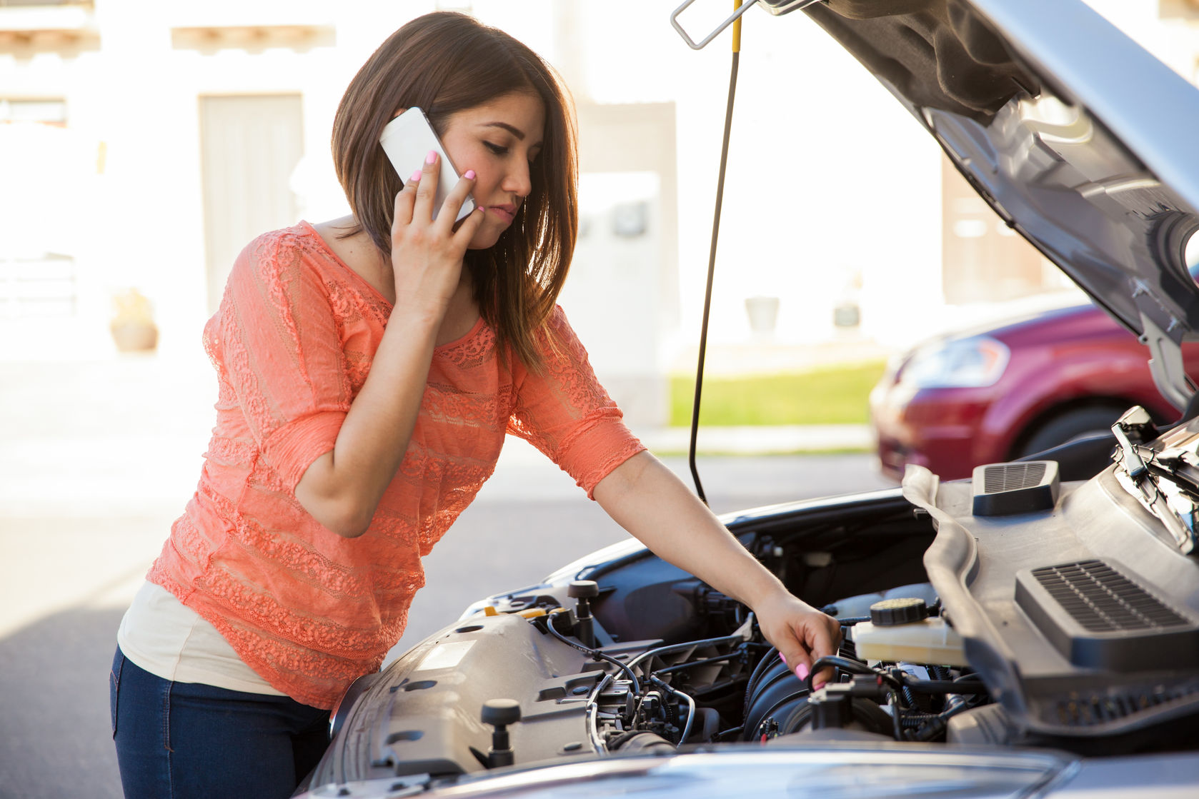women calling Dallas Mobile Mechanic Auto Car Repair Service